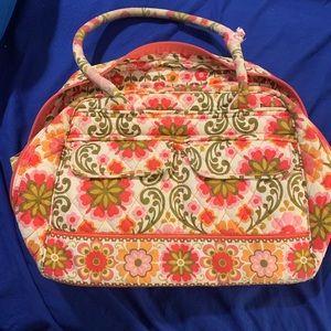 Vera Bradley Bags - Vera Bradley RETIRED Folkloric Pattern Tote Bag